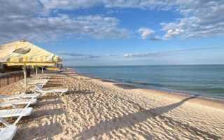 Популярные курорты Азовского моря