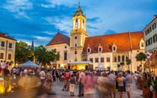 Уровень жизни в Словакии