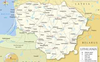 Оформление и получение гражданства Литвы
