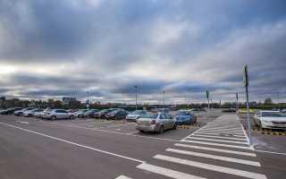 Парковка в аэропорту Жуковский