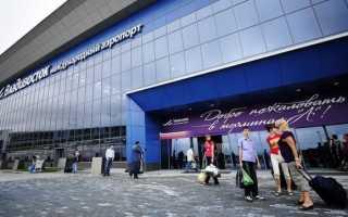 Как добраться из аэропорта Кневичи в город Владивосток