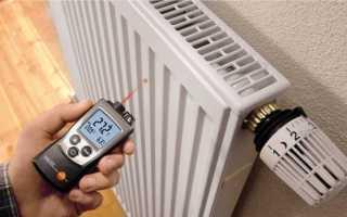 Какая температура радиатора отопления должна быть в квартирах по снип