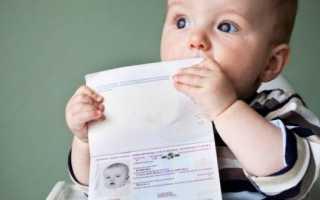 Оформление и получение загранпаспорта для новорождённого