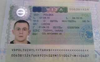 Документы для рабочей визы в Польшу