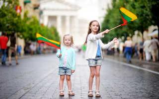 Оформление визы для детей в Литву