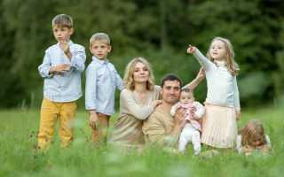 Московская область многодетная семья какие льготы