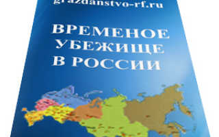 Получение временного убежища в России