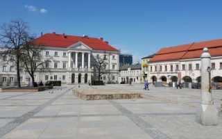 Средние зарплаты людей в Польше