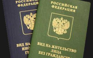 Получение вида на жительство в Москве