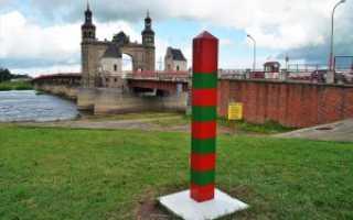 Что нужно для поездки из Калининграда в Россию через Литву