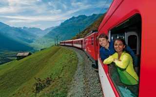 Куда поехать на поезде за границу