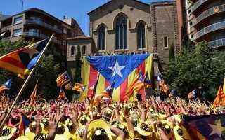 Борьба Каталонии за независимость