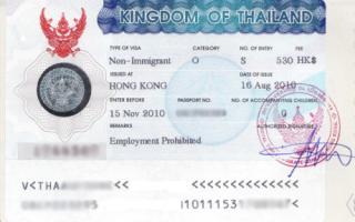 Оформление визы в Таиланд для украинцев