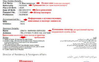 Оформление транзитной визы в Абу-Даби