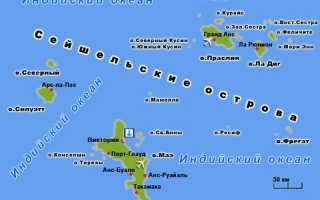 Работа на Сейшельских островах