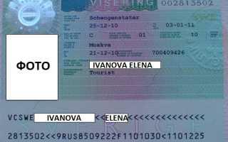 Cтраховка для оформления визы в Швецию