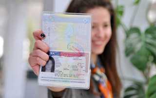 Оформление визы в США в чистый паспорт